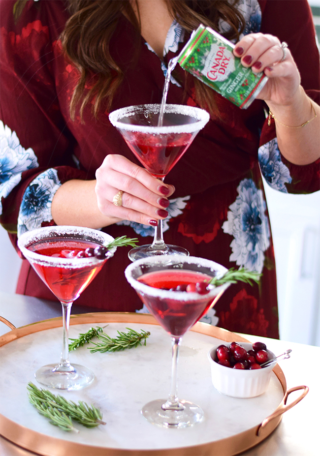 EASY HOLIDAY COCKTAIL RECIPE